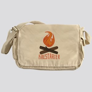 Firestarter Campfire Messenger Bag
