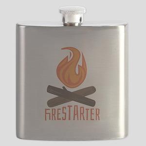 Firestarter Campfire Flask
