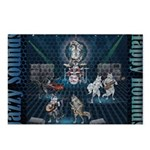 Jazzy Sounds Postcards (Package of 8)