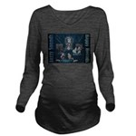 Jazzy Sounds Long Sleeve Maternity T-Shirt