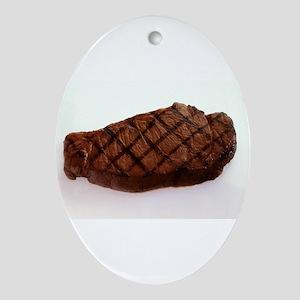 Steak Ornament (Oval)