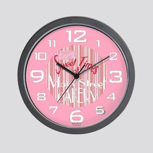 'Main Street Bakery' Wall Clock