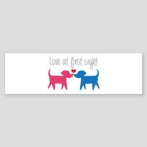 Love @ First Sight Bumper Sticker