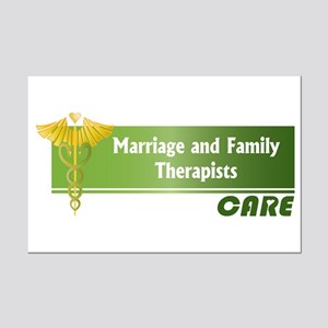 Marriage and Family Therapists Care Mini Poster Pr