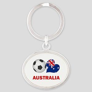 Australia Soccer Keychains