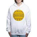 Water Polo Ball Women's Hooded Sweatshirt