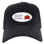 Christmas Strawberries Black Cap
