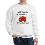 Christmas Strawberries Sweatshirt