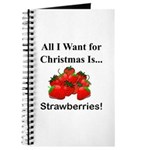 Christmas Strawberries Journal
