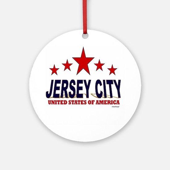 Jersey City U.S.A. Ornament (Round)