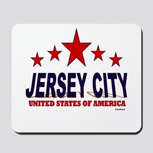 Jersey City U.S.A. Mousepad