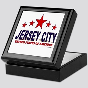 Jersey City U.S.A. Keepsake Box