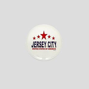 Jersey City U.S.A. Mini Button