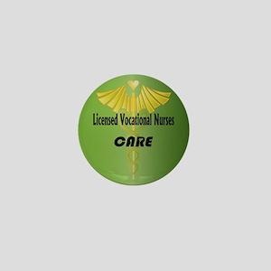 Licensed Vocational Nurses Care Mini Button