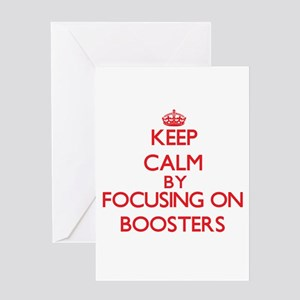 Boosters Greeting Cards