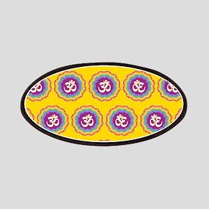 Seven Chakras pattern Patches