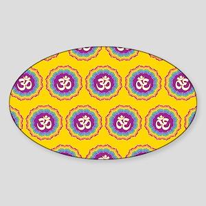 Seven Chakras pattern Sticker