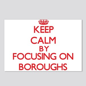 Boroughs Postcards (Package of 8)