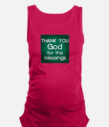 THANK YOU Maternity Tank Top