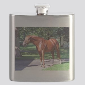 "SECRETARIAT - ""Big Red"" Flask"