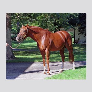 "SECRETARIAT - ""Big Red"" Throw Blanket"
