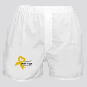 My Daughter Survived Childhood Cancer Boxer Shorts