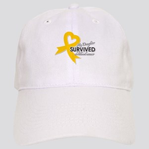 My Daughter Survived Childhood Cancer Baseball Cap