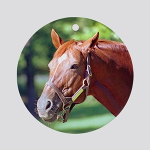 "SECRETARIAT - ""Big Red"" Ornament (Round)"