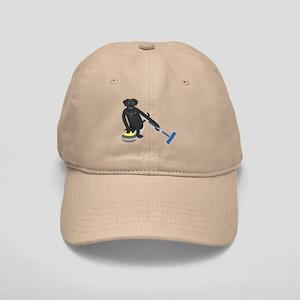 Black Lab Curling Cap