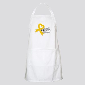 My Daughter Survived Childhood Cancer Apron