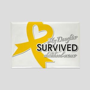 My Daughter Survived Childhood Cancer Magnets