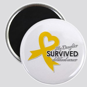 My Daughter Survived Childhood Cancer Magnets