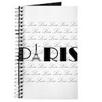 Paris Eiffel Tower on Love Journal