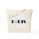 Paris Eiffel Tower on Love Tote Bag