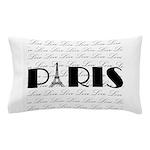 Paris Eiffel Tower on Love Pillow Case