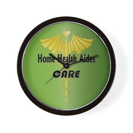 Home Health Aides Care Wall Clock