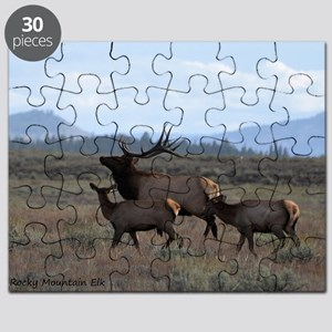 Rocky Mountain Elk Puzzle