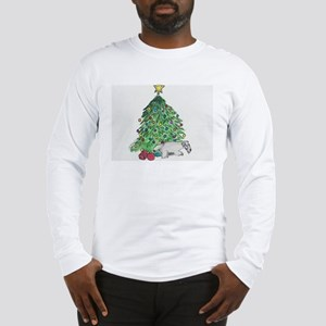 "Cesky Terrier ""My Tree"" Long Sleeve T-Shirt"