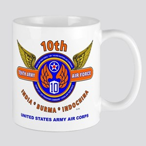 10TH ARMY AIR FORCE WORLD WAR II ARMY A Mug