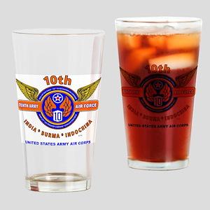 10TH ARMY AIR FORCE WORLD WAR II AR Drinking Glass