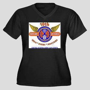 10TH ARMY AIR FORCE WORLD WAR II Plus Size T-Shirt