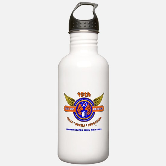10TH ARMY AIR FORCE WO Water Bottle