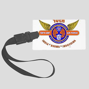 10TH ARMY AIR FORCE WORLD WAR II Large Luggage Tag