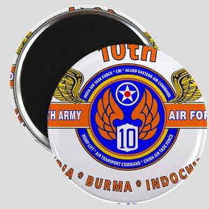 10TH ARMY AIR FORCE WORLD WAR II ARMY AIR Magnets