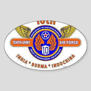 10TH ARMY AIR FORCE WORLD WAR II ARMY AIR Sticker