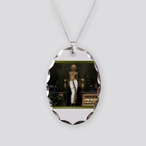 Best Seller Egyptian Necklace Oval Charm