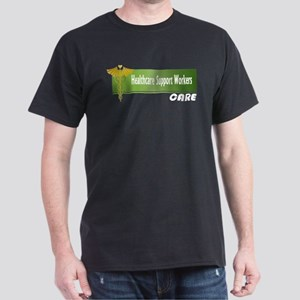 Healthcare Support Workers Care Dark T-Shirt