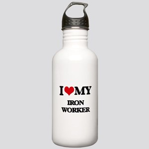I love my Iron Worker Stainless Water Bottle 1.0L