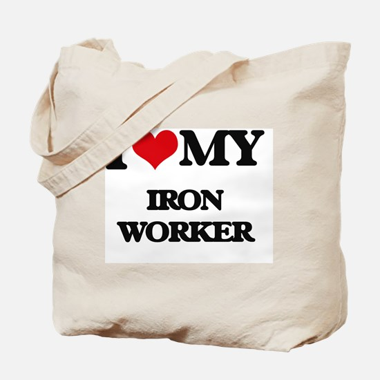 I love my Iron Worker Tote Bag