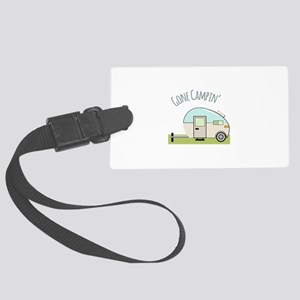 Gone Campin Luggage Tag